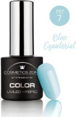 Blauwe Cosmetics Zone UV/LED Hybrid Gel Nagellak 7ml. Blue Equatorial PST7