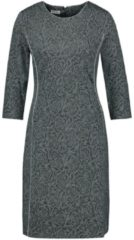 Kleid mit Jacquarddessin Gerry Weber Grau gemustert