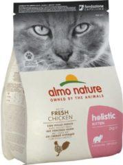 Almo Nature Cat Holistic Kitten 2 kg - Kattenvoer - Kip&Rijst Holistic