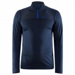 Craft - Core Gain Midlayer - Sportshirt maat S, zwart/blauw