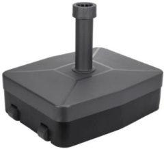 Zwarte Excellent Houseware Parasolvoet vulbaar tot 40 kg