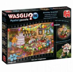 Puzzel Wasgij Mystery 16 - Verrassing 1000 stukjes - Legpuzzel Jumbo Was Gij