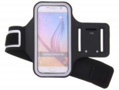 Zwarte Sportarmband Voor De Samsung Galaxy S6 / S6 Edge