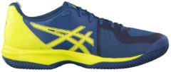 Tennisschuh Gel-Court Speed Clay E801N-4589 mit atmungsaktivem Obermaterial Asics Ink Blue/Sulphur Spring/Turkis