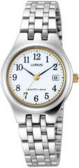 Zwarte Lorus RH787AX9 horloge dames - zilver en goud - edelstaal