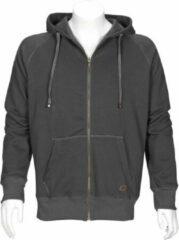 Antraciet-grijze T'RIFFIC STORM Hooded Sweater Antraciet - Maat 4XL