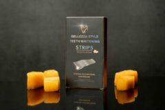 Zwarte Bellezzastyle: Tandenbleek Strips - Peach Flavour 14Days
