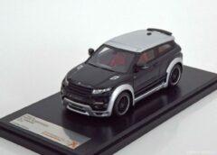 Zwarte Landrover Land Rover Range Rover Evoque By 'Hamann' 2012 - 1:43 - PremiumX - Models