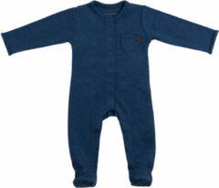 Donkerblauwe Baby's Only Melange Boxpakje Met Voetjes Jeans Mt. 62