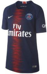 Blauwe Nike Paris Saint Germain thuisshirt 2018/2019 jongens marine/bordeaux