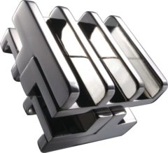 Huzzle Breinbreker Cast Rattle 11,8 Cm Staal Zilver