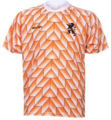 Oranje Merkloos / Sans marque EK 88 Voetbalshirt 1988 Blanco-140