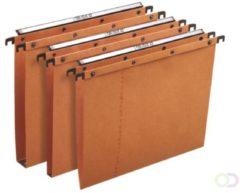 Elba L'Oblique hangmappen voor laden AZO tussenafstand 330 mm (A4) bodem 30 mm oranje