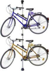 Relaxdays Fahrradhalterung Teleskop für 2 Räder