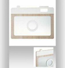 Atmosphera Créateur d'intérieur® Camera Spiegel Wit Beige 25.5 cm