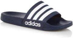 Marineblauwe Adidas CF Adilette Slippers Volwassenen - Collegiate Navy / Ftwr White / Collegiate Navy - Maat 44 1/5