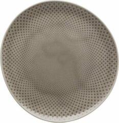 Grijze ROSENTHAL - Junto Pearl Grey - Ontbijtbord 22cm