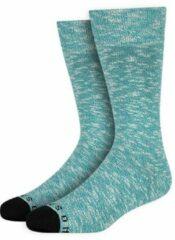 Azuurblauwe Heroes on Socks Andrew Sokken Azure maat 41-46