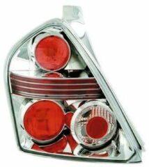 Universeel Set Achterlichten Fiat Stilo 3-deurs 2002- - Chroom