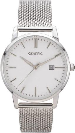 Afbeelding van Olympic OL66HSS001 Parma Horloge Staal Zilverkleurig 40mm Heren