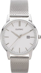 Olympic OL66HSS001 Horloge - Staal - Zilverkleurig - 40 mm