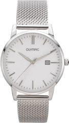 Olympic OL66HSS001 Parma Horloge Staal Zilverkleurig 40mm Heren