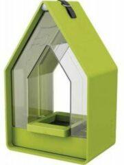 Emsa Landhaus vogel voederhuisje met silo lime