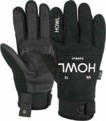 Zwarte Howl Jeepster handschoenen black
