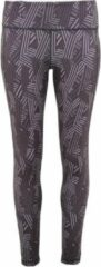 Women's TriDri® performance crossline legging full-length, Kleur Charcoal, Maat L