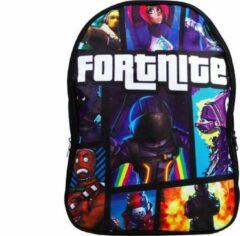 Zwarte GoPa Fortnite Kinderrugzak | 18 Liter | rugtas | schooltas | Gaming