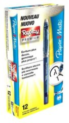 PAPERMATE PENNA CANCELLABILE REPLAY PREMIUM RICARICABILE M 0,7 NERO -12 PEZZI