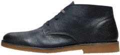 SELECTED Desert Leather - Boots Men Blue