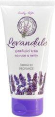 BODY TIP PREMIUM Verzachtende Handcrème en Nagelcrème met Lavendelolie 100 ml - ruikt heerlijk -ontspant de huid en verbetert de bloedcirculatie, wordt ook gebruikt om brandwonden, schimmels en eczeem te behandelen.