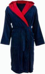 BadRockDeLuxe Blauwe badjas met capuchon XL/XXL