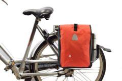 Discountershop Enkele fietstas 16 Litre - fietstas schoudertas - schoudertas fietstas - Fietstas enkel 16 Litre - Fietstas enkel Rood