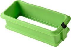 Sonstiges Silikonspringform Eckig mit Glasboden, Rot oder Grün/grün