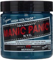 Turquoise Mermaid, classic semi permanente haarverf - Manic Panic