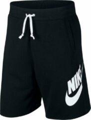 Nike Sportswear Alumni Men'S French Terry Shorts - Zwart - Maat S