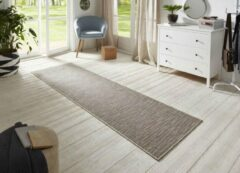 Creme witte BT Carpet Loper binnen & buiten sisal-look Nature - crème/multi 80x500 cm