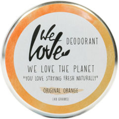We Love The planet 100% natural deodorant original orange