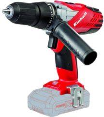 EINHELL Accu Klopboor-/ Schroefmachine TE-CD 18-2 Li-i Solo - Power-X-Change - 18 V - 48 Nm - Zonder accu & lader