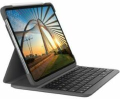 Logitech SLIM FOLIO PRO toetsenbord voor mobiel apparaat QWERTY Zwitsers Grafiet Bluetooth
