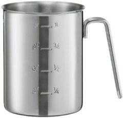 Zilveren Rosle Rösle Maatbeker - Rvs - Ø 11 cm - 1 liter