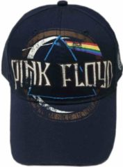Rock Off Pink Floyd Baseball pet Dark Side Of The Moon Album Distressed Blauw