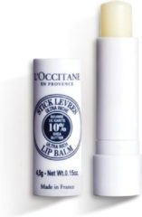 Transparante L'Occitane Shea Butter Ultra Rich lipbalsem 5 ml
