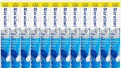 Steradent Kunstgebit Reinigingstabletten - Active Plus - 12 x 30 Tabletten - voordeelverpakking