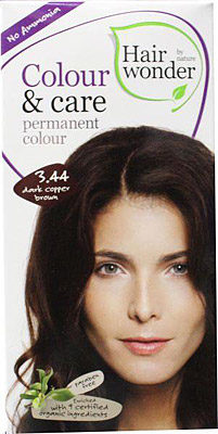 Afbeelding van Hairwonder Colour & Care dark copper brown 3.44 100 Milliliter
