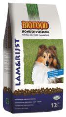 Biofood Hondenvoeding Lam&Rijst - Hondenvoer - 12.5 kg - Hondenvoer