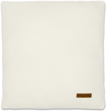 Afbeelding van Baby's Only Baby's Only Kussen Classic Wolwit 40 x 40 cm