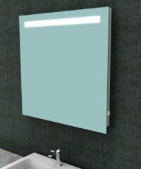 Ced'or spiegel met led verlichting + stopcontact 800x800